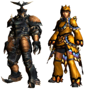 MHGU-Obituary and Butterfly Armor (Both) Render