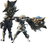 MHW-Hunting Horn Equipment Render 001