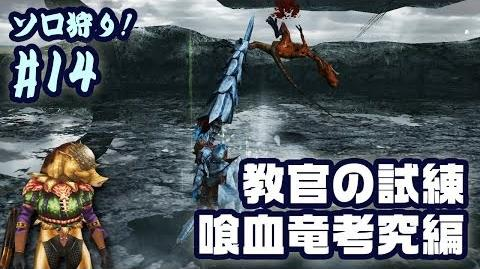 【MHF-G】ソロ狩り! 14 喰血竜考究 - ドスイーオス1頭の狩猟とイーオス5頭の討伐 Iodrome,Ioprey