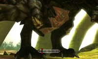 MH4U-Black Gravios Belly Break 003