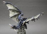 Capcom Figure Builder Creator's Model Azure Rathalos 005
