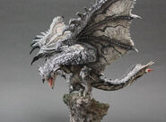 Capcom Figure Builder Creator's Model Silver Rathalos 002