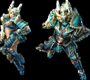 FrontierGen-Zinogre Armor (Blademaster) (Both) Render 2