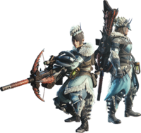 MHW-Light Bowgun Equipment Render 001