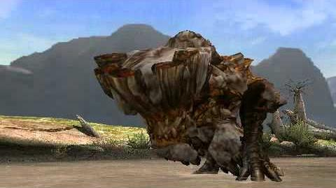 Monster Hunter Portable 3rd - Barroth Intro