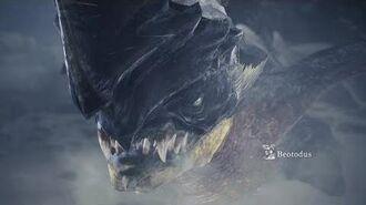 Monster Hunter World Iceborne - Beotodus Boss Fight (Solo Longsword)