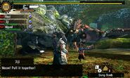 MH4U-Rathalos and Basarios Screenshot 001