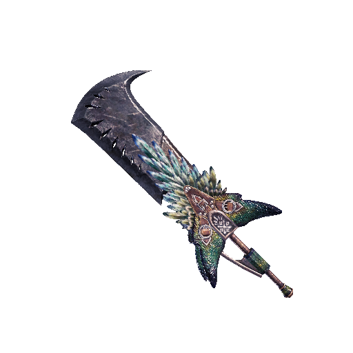 MHW-Great Sword Render 013