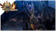 Monster Hunter 4 Ultimate - Fatalis Boss Fight 68