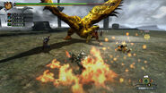 MH3U HD Gold Rathian