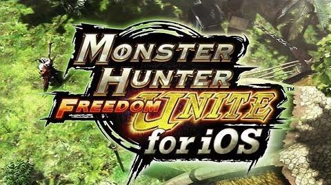 Monster Hunter Freedom Unite for iOS - E3 Trailer