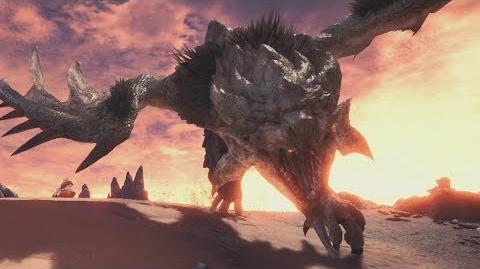 Monster Hunter World Rathian Boss Fight 8 (Solo Long Sword)