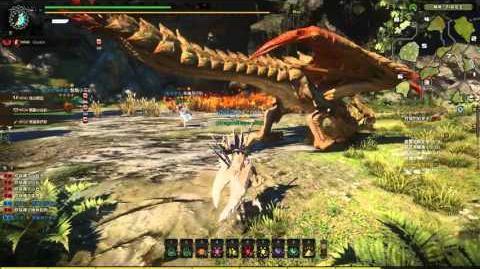 Monster Hunter Online Great Sword - Conflagration Rathian 烈焰女王 (HR Elite 2 王立 精英 2)