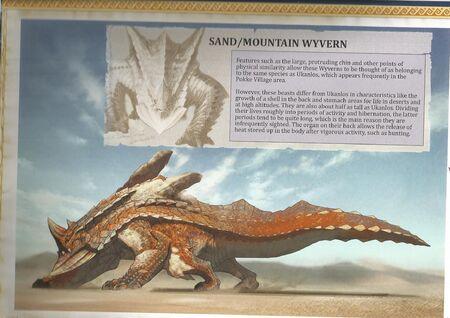 Sand Wyvern