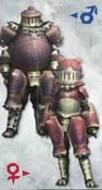 MH3U Rhenoplos Armor (Blade)