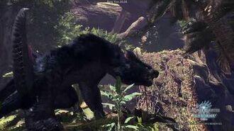Monster Hunter World Iceborne Beta - Nargacuga Resting