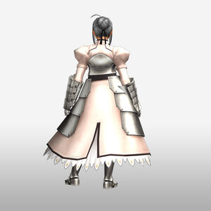 FrontierGen-Knight-King Armor 002 (Female) (Both) (Back) Render
