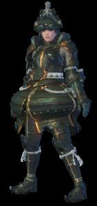 MHO-Shen Gaoren Armor (Gunner) (Female) Render 001