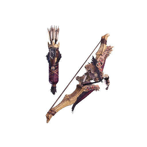 MHW-Bow Render 020