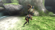 MHP3-Arzuros Screenshot 007