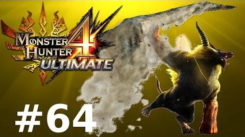 Monster Hunter 4 Ultimate Multiplayer -- Part 64 Golden Fury - Furious Rajang