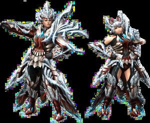 FrontierGen-Dinato Armor (Both) Render 2