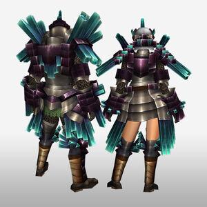FrontierGen-Kuaru Armor (Blademaster) (Back) Render