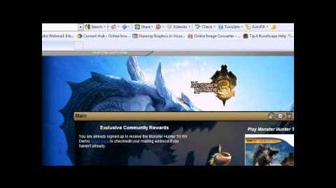 How To Get Monster Hunter 3 U.S Version Demo For Free (720P HD)