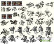MHOL-沙雷鳥 Concept Artwork 010