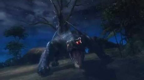 Monster Hunter 3 (Tri) G - Furious Black Wind (Nargacuga intro)