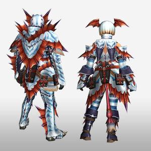 FrontierGen-Sutoroma Armor (Blademaster) (Back) Render