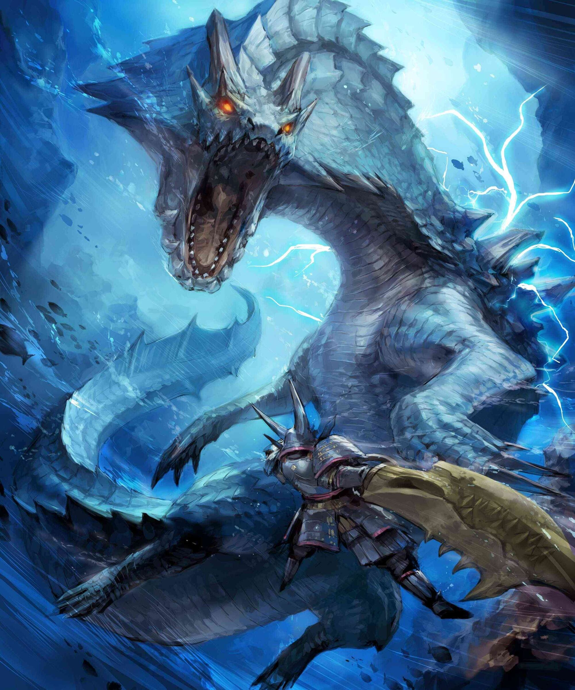 Lagiacrus | Monster Hunter Wiki | FANDOM powered by Wikia Oarfish Skull