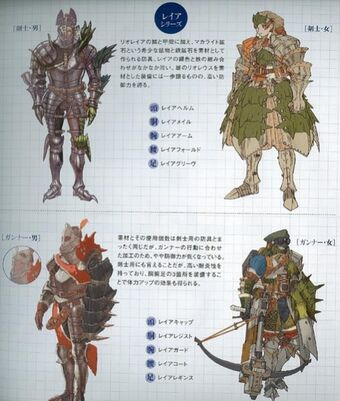 Rathian Armor Blade Monster Hunter Wiki Fandom