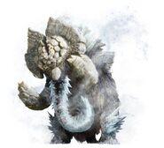 MHGU-Elderfrost Gammoth Render 001