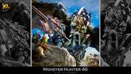 MH 10th Anniversary-Monster Hunter 4 Ultimate Wallpaper 001
