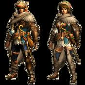MHGU-Bherna Armor (Both) Render