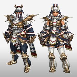 FrontierGen-Roku Armor (Both) (Front) Render