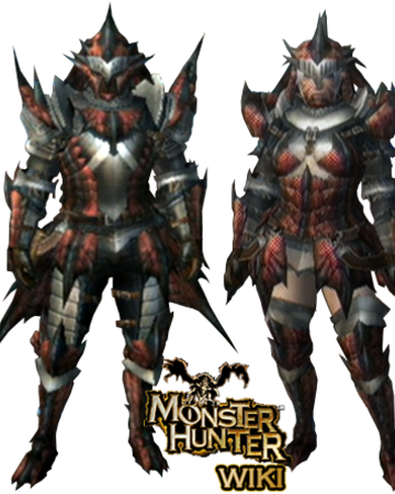 Rathalos Armor Blademaster Mh3 Monster Hunter Wiki Fandom