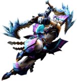 MH4U-Dual Blades Equipment Render 001