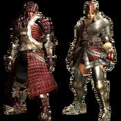 MHGU-Ioprey Armor (Blademaster) Render