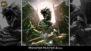 MH 10th Anniversary-Monster Hunter 2 Wallpaper 001