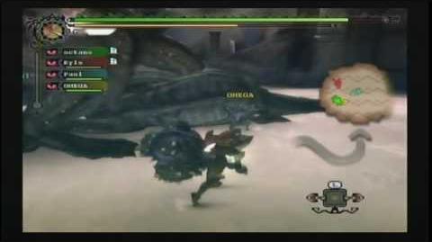 Monster Hunter Tri Deviljho Eats Deviljho