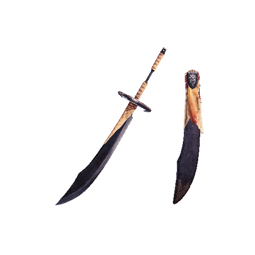 MHW-Long Sword Render 007