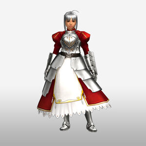 FrontierGen-Knight-King Armor 003 (Female) (Both) (Front) Render