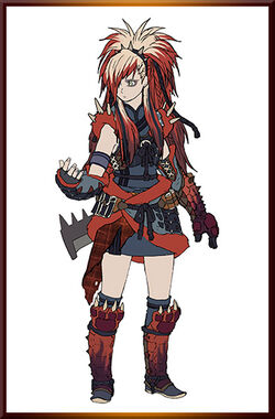 MHGen-Redhelm Arzuros Armor Concept Art 001