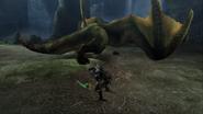 MHP3-Green Nargacuga Screenshot 004