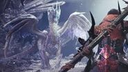 Monster Hunter World Iceborne - Velkhana (1st Encounter) Boss Fight