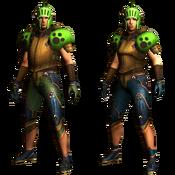 MHGU-Acorn Armor (Both) Render