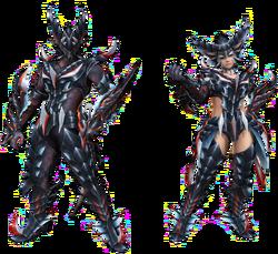 FrontierGen-Zena Armor (Blademaster) Render 2