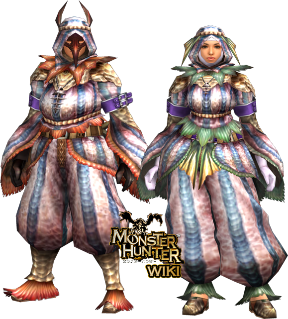 Makluva U Armor (Gun) | Monster Hunter Wiki | FANDOM powered